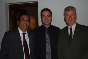 iPal's Managing Director Brad Loiselle with Canadian Trade Commissioners